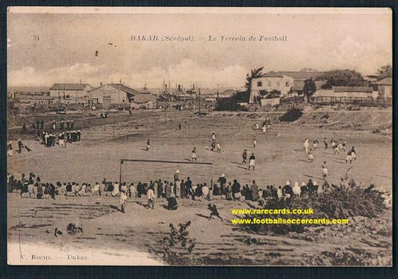 1910s Dakar football match Senegal pc